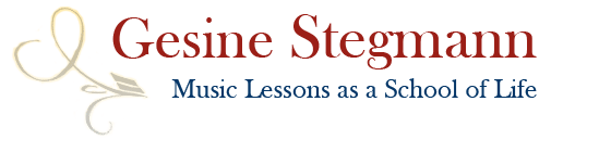 Gesine Stegmann – Music Lessons as a School of Life - in Berlin-Charlottenburg