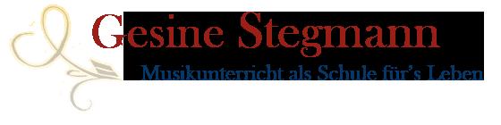 Gesine Stegmann - Musikunterricht als Schule für's Leben - in Berlin-Charlottenburg